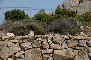 muro di campagna-podere