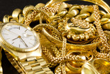Jewelry, gold, necklaces, rings, bracelets, watch, wealth - 42029358