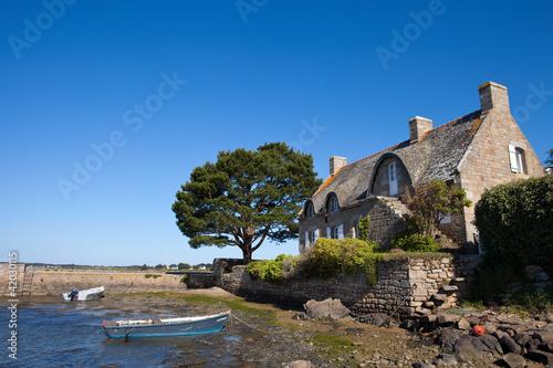 Maison bretonne à Saint Cado