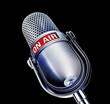 mic ON AIR black
