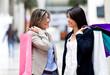 Casual women shopping