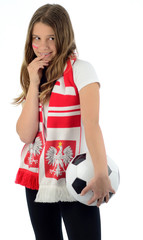 Teaser Polish football fan
