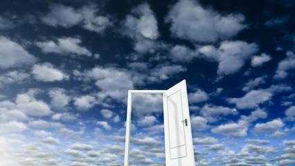 Sky and Door 03