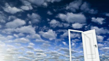 Sky and Door 02