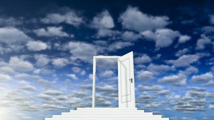 Sky and Door 01