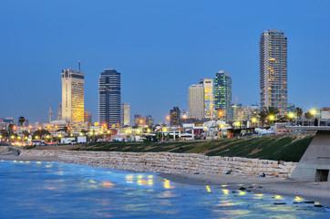 Tel Aviv Mediterranean Skyline