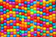 colorful plastic balls,background.