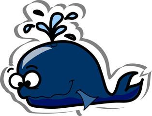 Мультфильм рыбы, дельфин