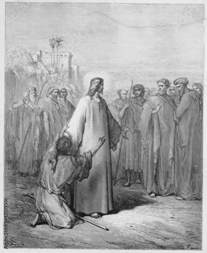 Jesus healing the demoniac boy