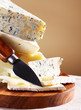 Fresh and delicious cheese