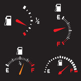 Gas Tank Illustration