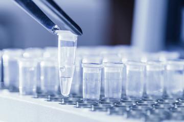 Loading DNA samples for PCR