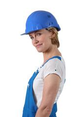 Female tradesperson