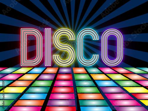 Zdjęcia na płótnie, fototapety, obrazy : Disco