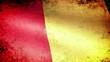 Guinea Flag Waving, grunge look