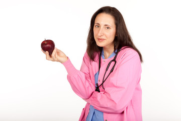 Doctor Offers Apple