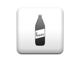 Boton cuadrado blanco botella cerveza
