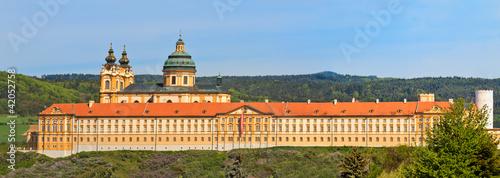 Melk Panorama - Famous Baroque Abbey (Stift Melk), Austria