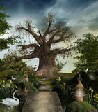 Fototapety Fabulous garden