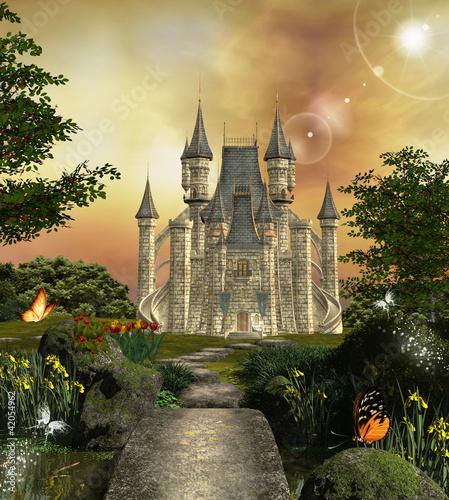 zamek-w-zaczarowanym-ogrodzie