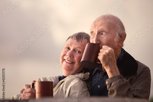 Adorable Senior Couple