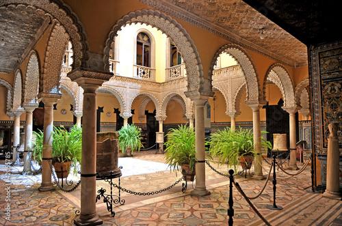 Leinwanddruck Bild Palacio de la Condesa de Lebrija, Sevilla