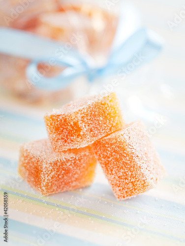 Fruit jelly candy