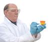 Writing On Urine Sample Bottle