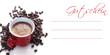 Gutschein DIN lang Kaffee