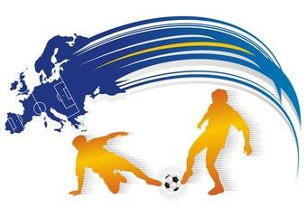 color soccer europa