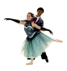 Ballet Couple Pas de Deux