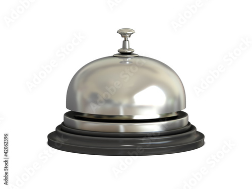 Reception bell (chrome)