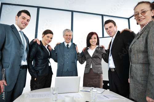 People on a business meeting