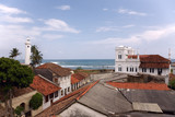 Mosque and lighthouse in Fort Galle