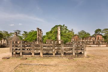 latha mandapaya - lotus anctuary  - ancient capital of Ceylon  i