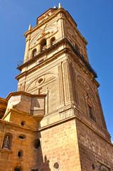 Torre-campanario de la catedral de Guadix