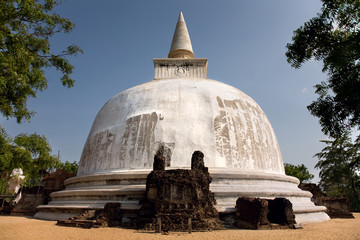 The Alahana Parivena in Polonnaruwa (ancient Sri Lanka's capital