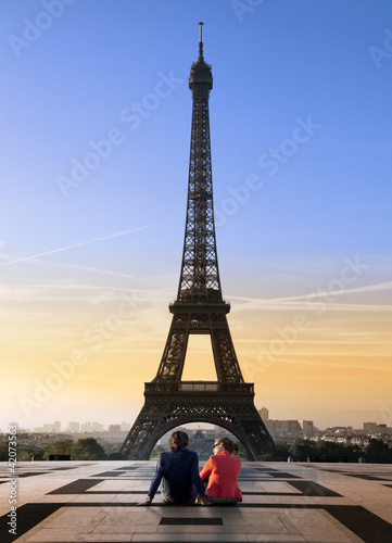 Couple Tour Eiffel