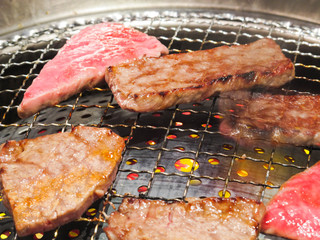 BBQ in JAPAN(焼き肉)