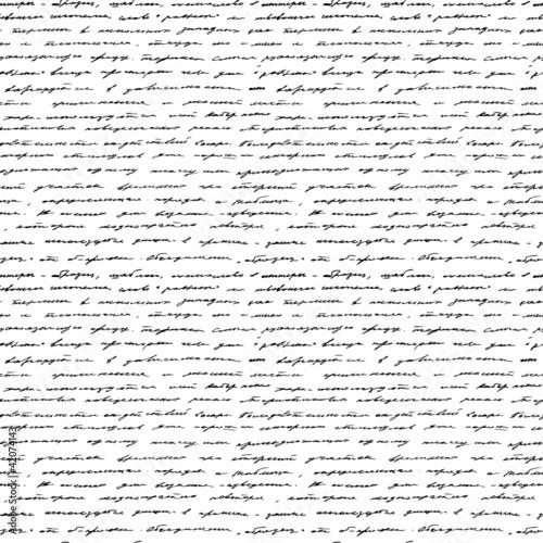 pismo-odreczne-bezszwowe-tlo-wektor
