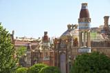 Fototapeta Das Hospital de la Santa Creu ist Weltkulturerbe der UNESCO
