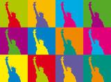 Statue de la liberté POP ART - 42075546