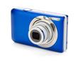 Blue compact camera - 42079330