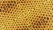 Kaleidoscope background 3D with honeycombs