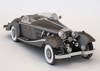 Classic Elegant Black Car