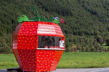Strawberry kiosk