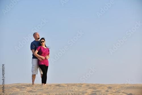 couple enjoying the sunset