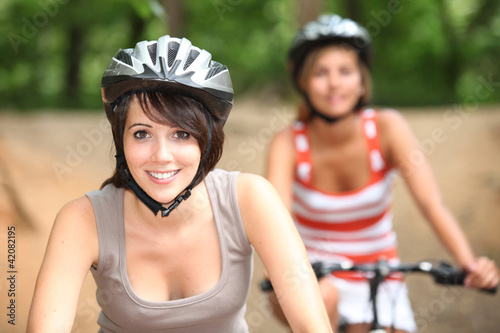 Bike ride between girls