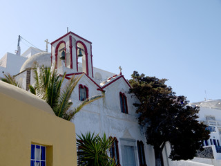Church in Fira the Capital of Santorini Greece