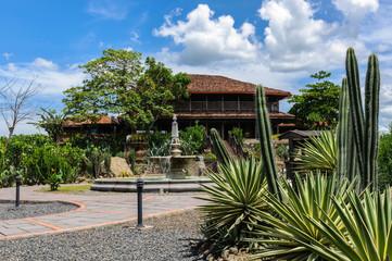 hacienda among the cacti grown